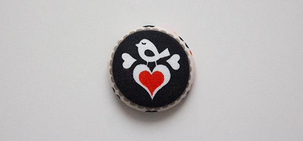 Fertiger Button