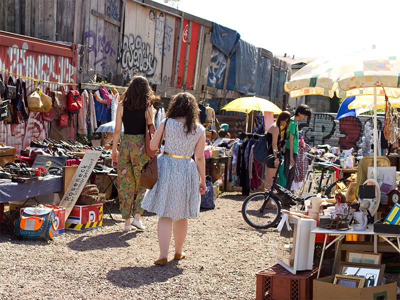 Foto-Freitag #8: Flohmarkt am Mauerpark (Teil 2)
