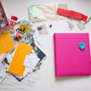 Wie bastelt man eigentlich ein Scrapbook? Eine kleine Anleitung & Ideensammlung