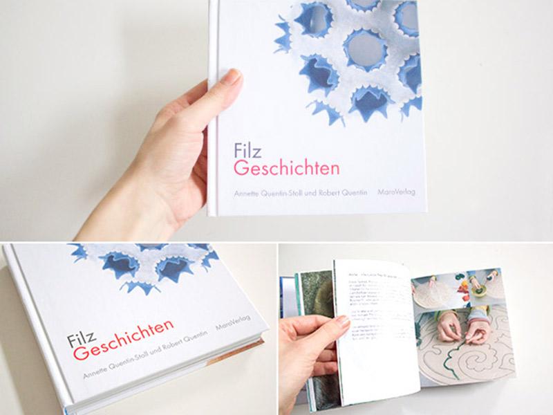 """Ein Buchtipp für alle Filz-Fans: Annette Quentin-Stoll's """"FilzGeschichten"""""""