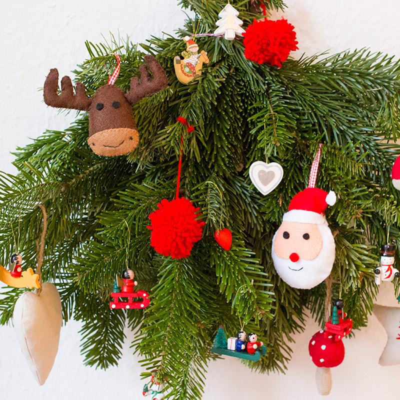Weihnachtsdeko aus Filz