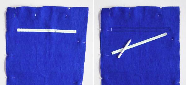 RV Tasche aufzeichnen