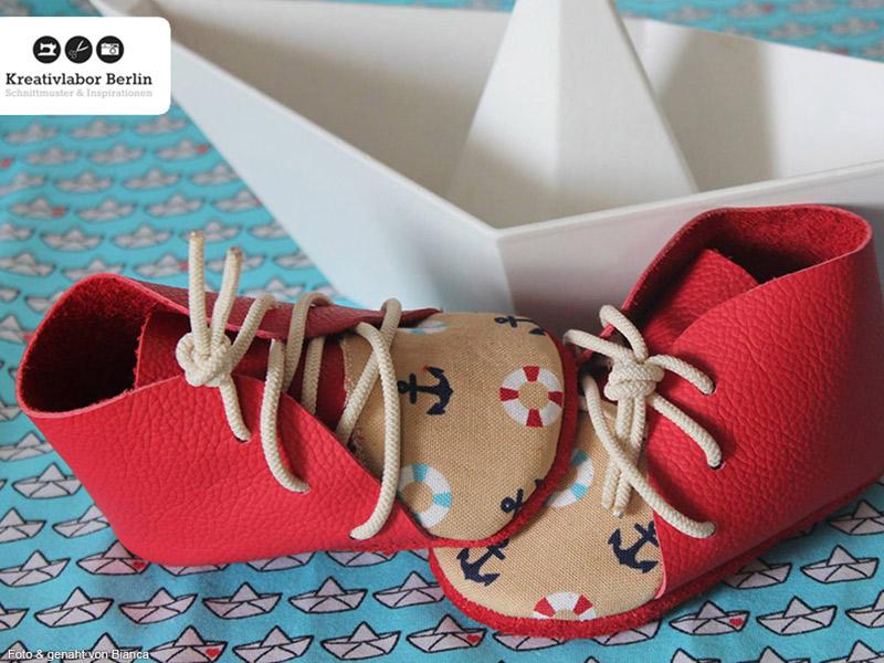 Mein Buch: Babyschühchen nähen - Kreativlabor Berlin