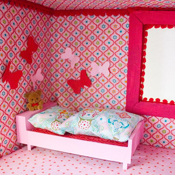 Bettwäsche Puppenhaus