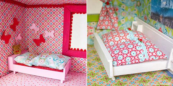 Bettw sche f r das puppenhaus kreativlabor berlin for Puppenhaus selber machen