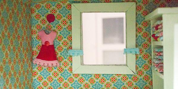 Gardinen fürs Puppenhaus