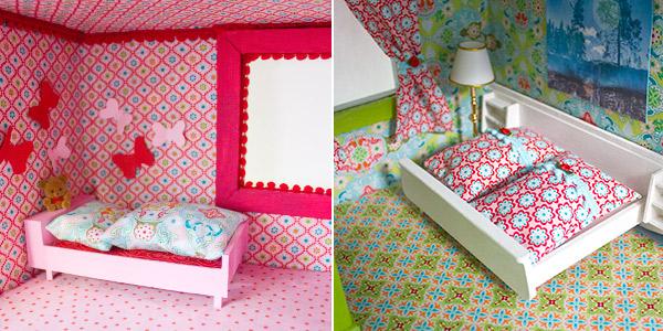 neugestaltung eines puppenhauses 3 m bel lackieren und. Black Bedroom Furniture Sets. Home Design Ideas