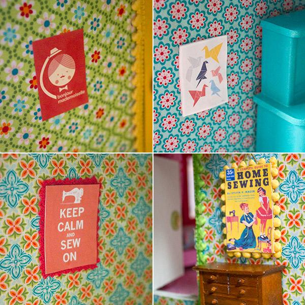 Bilder im Puppenhaus