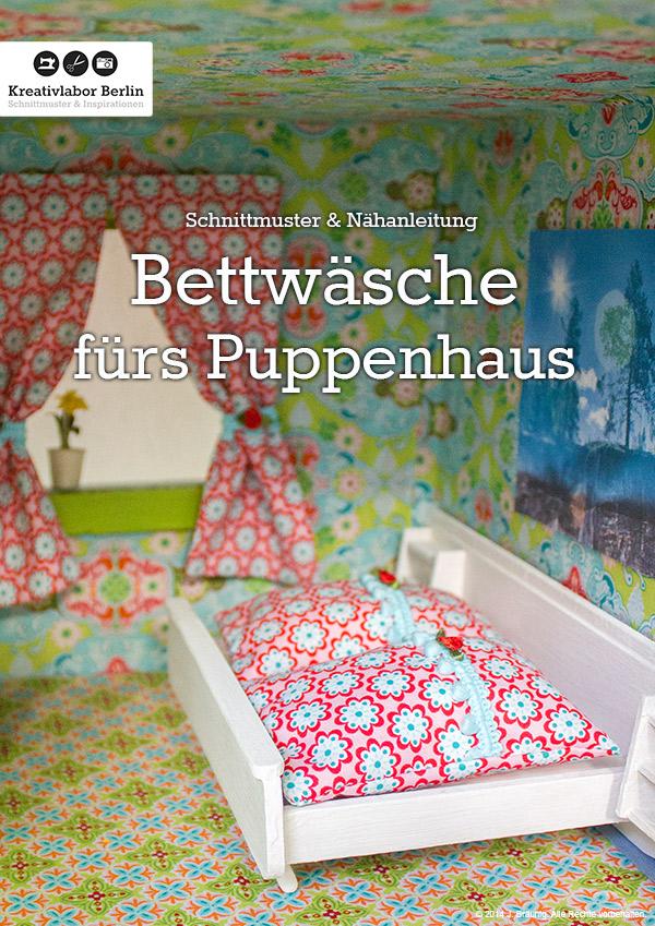 Nähanleitung Bettwäsche füs Puppenhaus