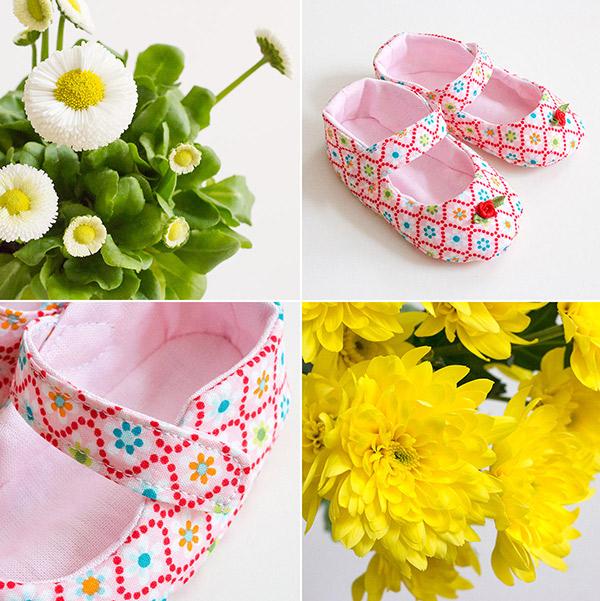 Babyschuhe: Frühlingsparade