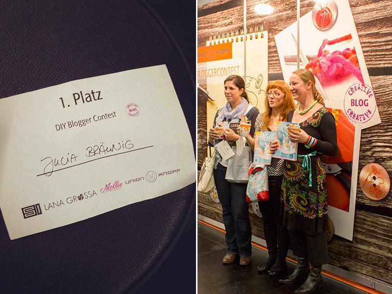 Wunder gibt es immer wieder... Das Finale des DIY-Bloggercontests auf der h+h in Köln
