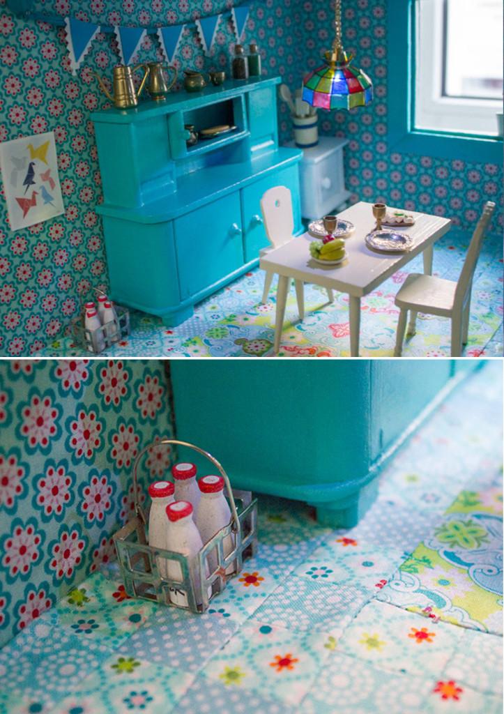 vintage love ein altes puppenhaus neu gestalten kreativlabor berlin. Black Bedroom Furniture Sets. Home Design Ideas