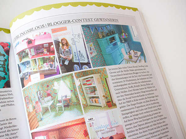Mein Puppenhaus & Blog in der Mollie Makes