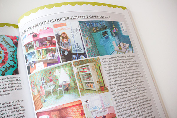 Mein Puppenhaus in der Mollie Makes