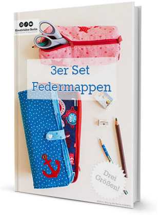 Federmappen-Set: 3 verschiedene Stiftemäppchen