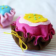 Muffin Nadelkissen