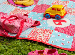 DIY-Anleitung: Eine einfache Patchwork-Decke nähen