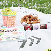 Picknickdecke zum Umhängen
