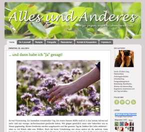 Alles und Anderes Blog