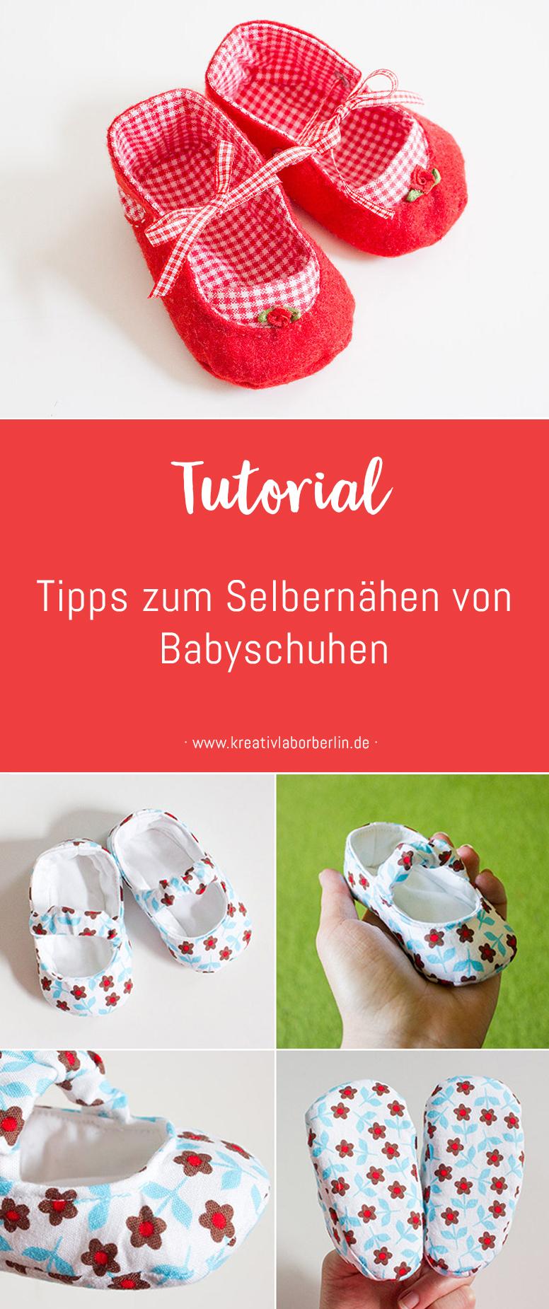 Tipps zum Selbernähen von Babyschuhen