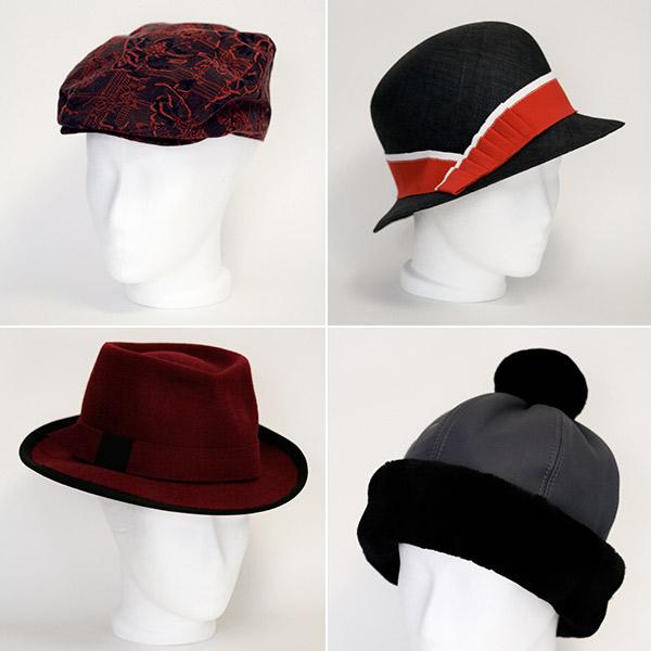 Kopfstücke: Hüte, Mützen & Headpeaces