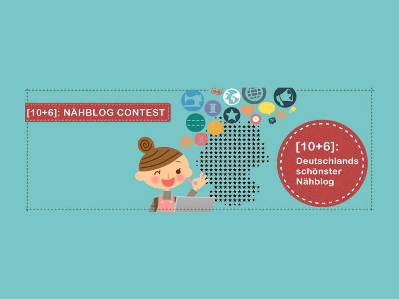 [10+6]: Nähblog-Contest · Kreativlabor Berlin für das Bundesland Berlin