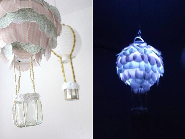 Diy anleitung hei luftballon lampe f rs kinderzimmer kreativlabor berlin - Lampe kinderzimmer basteln ...
