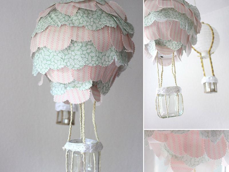 DIY-Anleitung: Heißluftballon-Lampe fürs Kinderzimmer - Kreativlabor ...