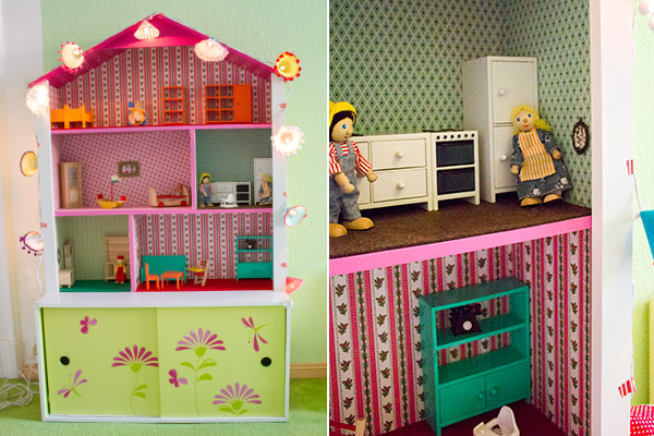 diy anleitung puppenhaus regal f rs kinderzimmer. Black Bedroom Furniture Sets. Home Design Ideas