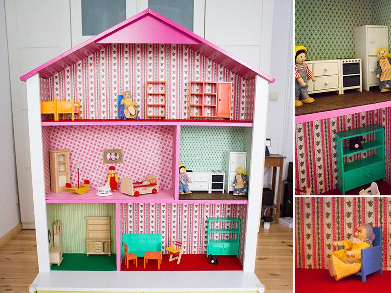 DIY-Anleitung: Puppenhaus-Regal fürs Kinderzimmer