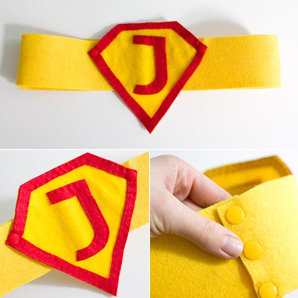 Superman-Gürtel nähen