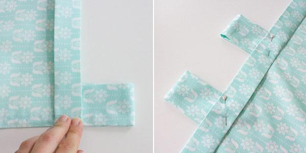 diy-anleitung: vorhang / schlaufenschal selbst nähen ... - Küchengardinen Mit Schlaufen
