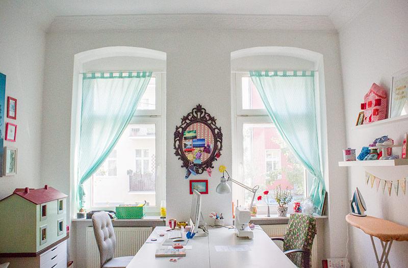 Vorhänge Berlin diy anleitung vorhang schlaufenschal selbst nähen kreativlabor