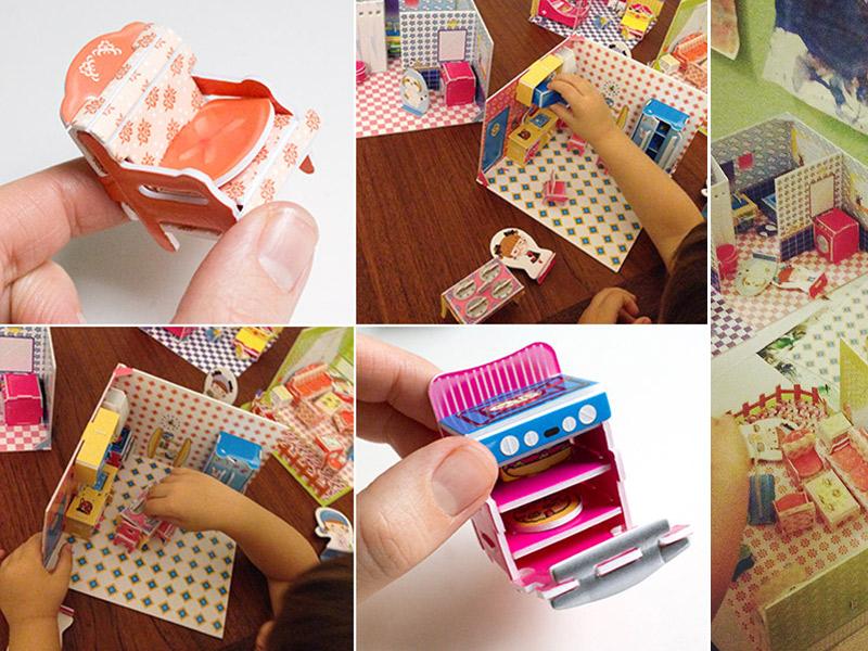 Ich bin verzaubert: Puppenhaus-Bastelsets für Kinder