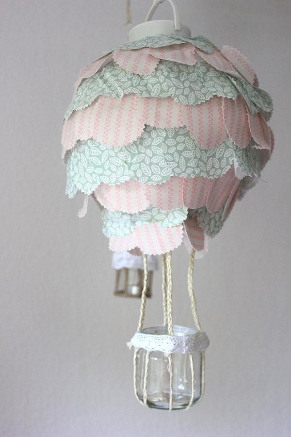 Heißluftballon-Lampe
