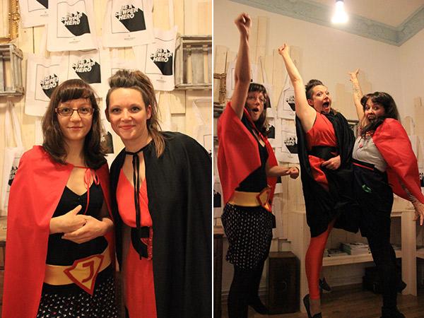 Sewperhelden-Party im Nadelwald