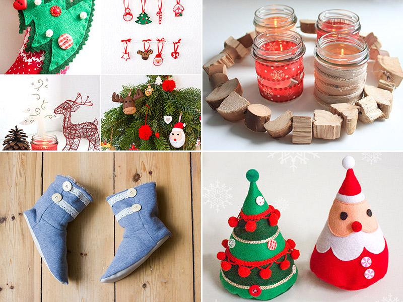 Weihnachtliche Nähideen, tolle Schnittmuster & Große Stoff-Verlosung