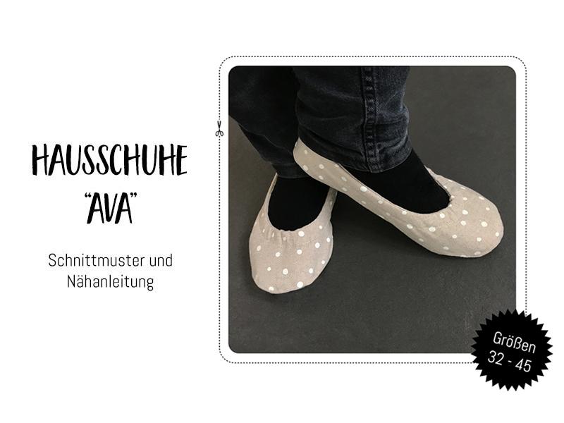 """Neues Schnittmuster-Ebook: Babyschuhe, Kinderschuhe und Hausschuhe """"Ava"""""""