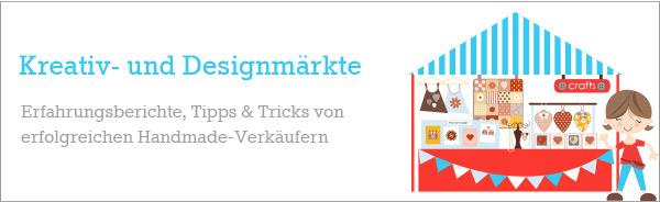 Selbstgemachtes auf Kreativ- und Designmärkten verkaufen