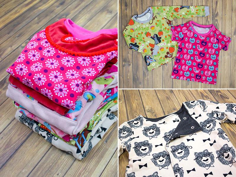 Kleidung nähen mit der Overlock · Teil 3: Kinderkleidung