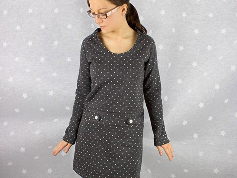 Kleidung nähen mit der Overlock · Teil 2: Einfädeln, verschiedene ...