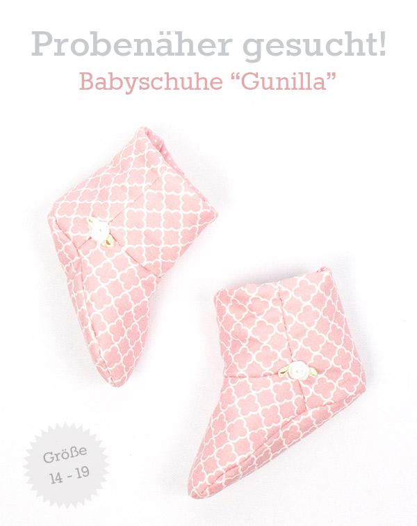 Probenähen Babyschuhe / Kinderschuhe