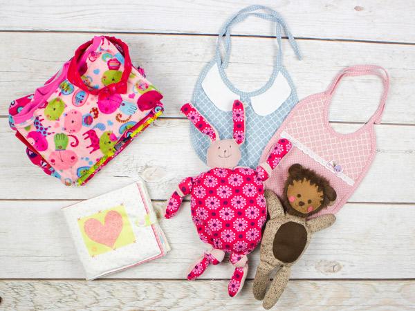 Favorit Kleidung nähen mit der Overlock · Teil 4: Babykleidung UJ93