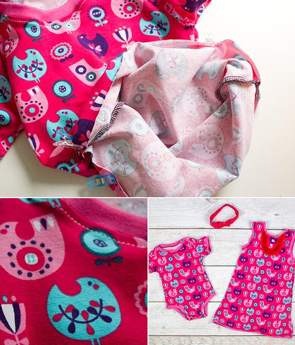 Kleidung nähen mit der Overlock · Teil 4: Babykleidung ...