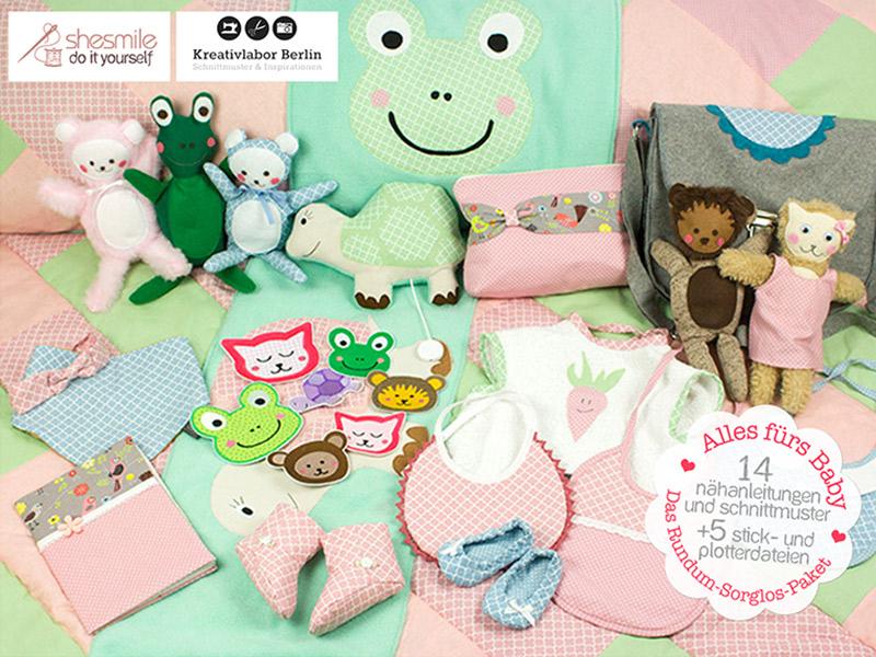 Neues Schnittmuster-Set: Alles fürs Baby · Das Rundum-Sorglos-Paket