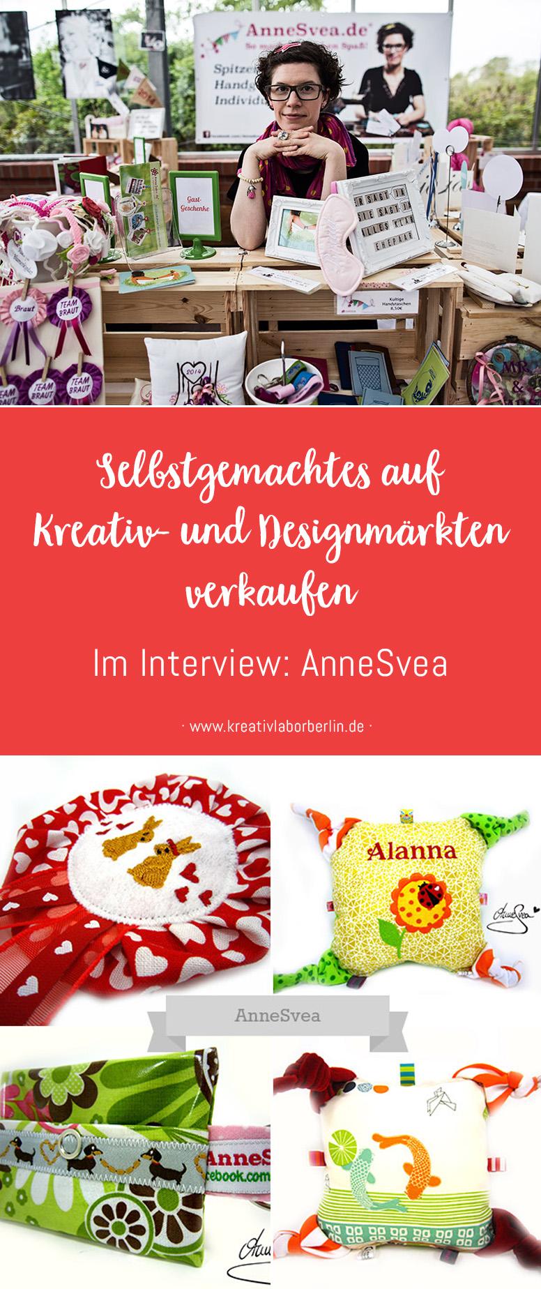 Selbstgemachtes auf Kreativ- und Designmärkten verkaufen: AnneSvea