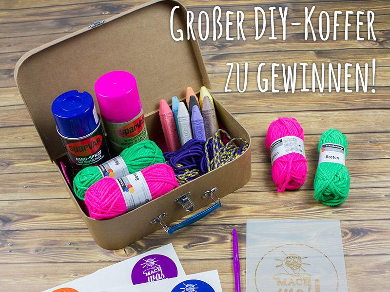 #machwas und werde Teil der kreativen Bewegung: DIY-Koffer zu gewinnen!