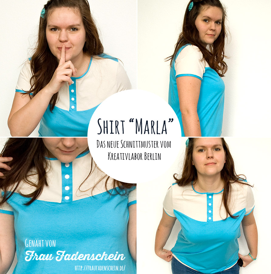 Nähbeispiele Shirt Marla