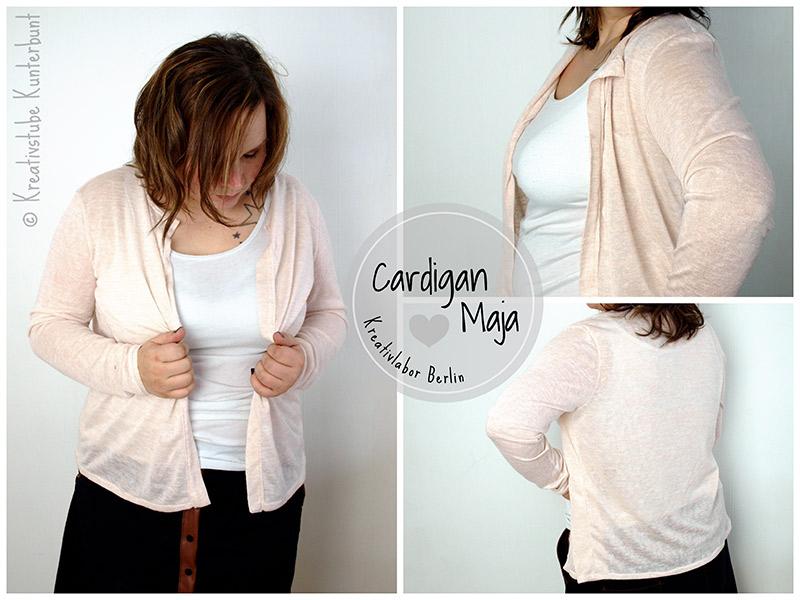 Neues Schnittmuster: Cardigan / Strickjacke \