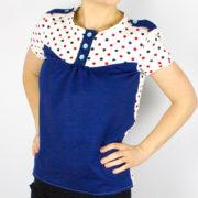 """Sew-Along """"Shirt Marla"""" Teil 2: Halseinfassband, Kragen und Knopfleiste nähen"""
